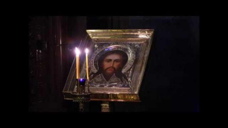 Слезное моление в субботу вечером Преподобного Ефрема Сирина