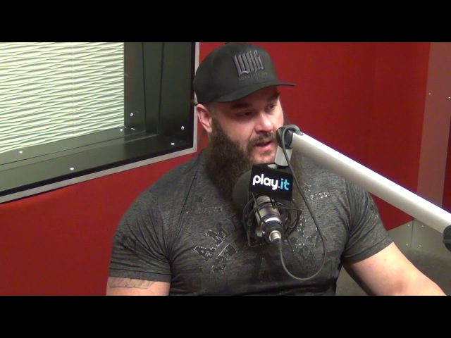 [WBSOFG] WWE's Braun Strowman talks about the NFL Combine and beating Game of Thrones The Mountain
