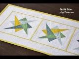 Patchwork Quilt Star &amp Triangl Hypnotic - LizaDecor.com