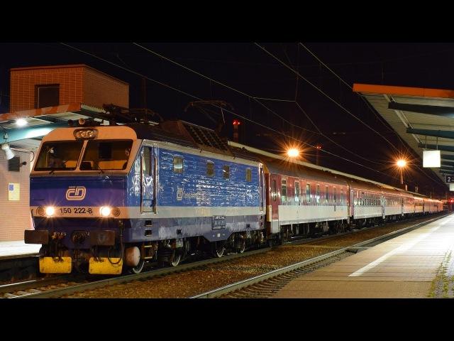 Noční vlaky - Pardubice hlavní nádraží - 2017