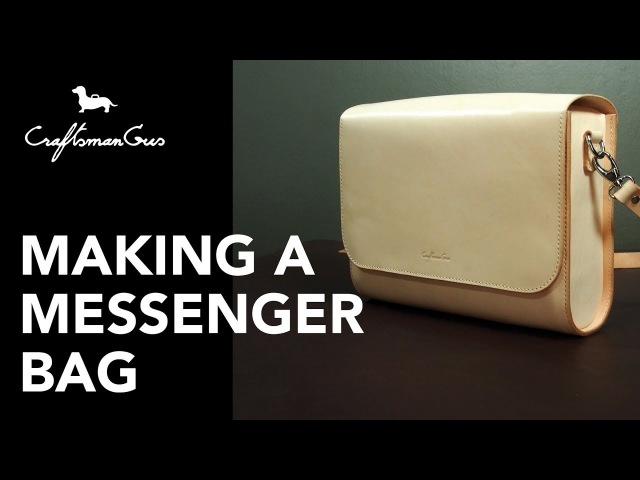 Making Bag : Barrel Messenger