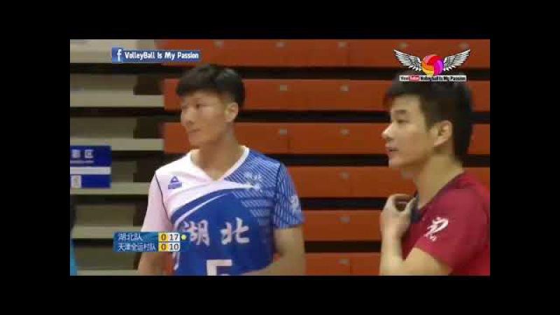 Hubei (湖北) vs Tianjin (天津) | 12-11-2017 | Chinese Men's volleyball super league 2017/2018