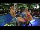11 Бокс на колясках Wheelchair Boxing Boxe Espetacular Rafael Rodrigues vs Wilidy Viana