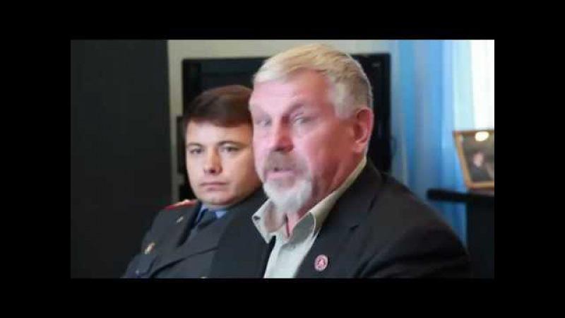 Жданов В.Г. - Встреча с Мэром Партизанска.
