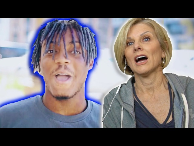 Mom REACTS to Juice Wrld - All Girls Are The Same Lucid Dreams (Prod. Nick Mira)