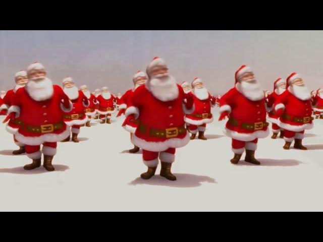 Roztańczone Mikołaje Jingle Bells Santa Claus
