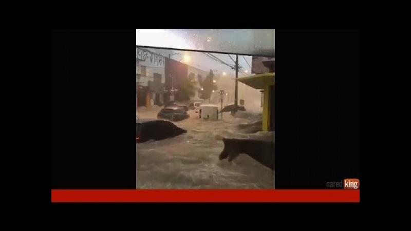 Flood in Brazil , budva , indonesia 16 -17 march 2018, наводнение в Бразилии, Будва, Индонезия