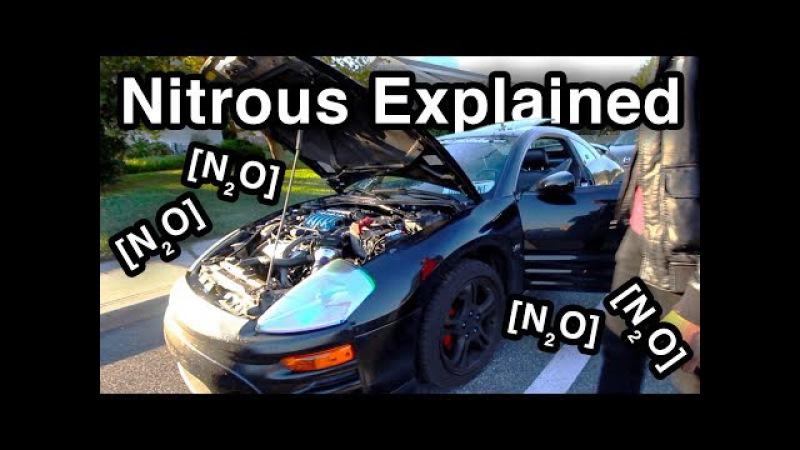 Nitrous [N₂O] Setup Explained [Can An Eclipse GTS Do A Burnout]