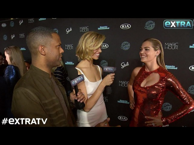 Kate Upton Explains What Happened After Being Knocked Down by That Huge Wave