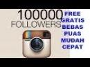 Cara Menambah Followers Instagram Mudah dan Cepat 3 Hari 100K Tutorial DIY
