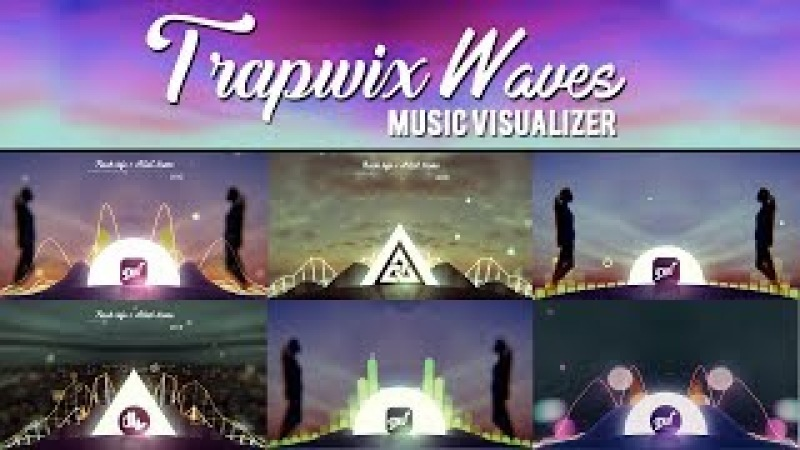 Audio Spectrum Music Visualizer After Effects Template | TrapWix Waves