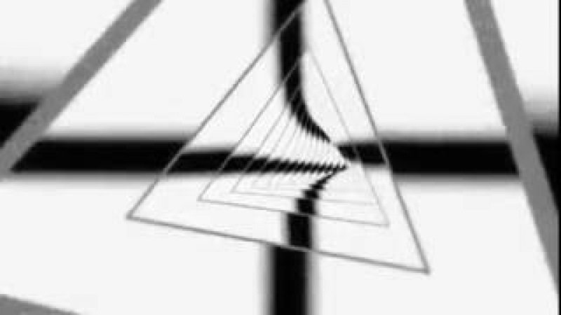 Cool Abstract Black and White Triangle Animation Background