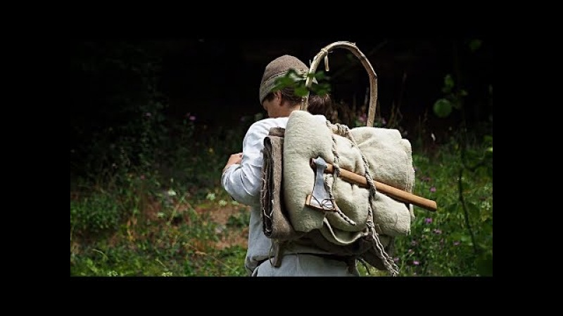 How to make a wooden frame pack - Viking age