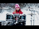 Toxicity by SOAD (System Of A Down) - Drum Cover Kate Kuziakina, age 9 (Tama Drum kit, Zildjian)