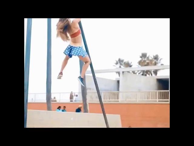 Дэми Бэгби - веселая фитоняшка из Бостона обожает фитнес-флешмобы