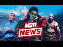 IGM News — взлом Nintendo Switch и геймплей God of War