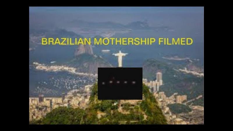 THE SANTOS BRAZIL MOTHERSHIP UFO FILMED NOVEMBER 28TH 2017