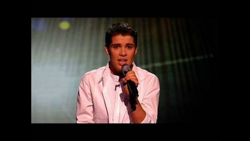 The X Factor 2009 - Joe McElderry: She's Out Of My Life - Live Show 9 (itv.com/xfactor)