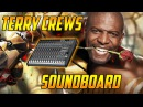 Using a Terry Crews Soundboard in Overwatch Competitive! (Overwatch Trolling)