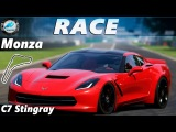 Race AC Racing Club. Monza. Chevrolet Corvette C7 Stingray