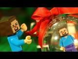 ЛЕГО НУБик 🎅 НОВЫЙ ГОД Майнкрафт Мультики для Детей LEGO Minecraft Мультфильмы