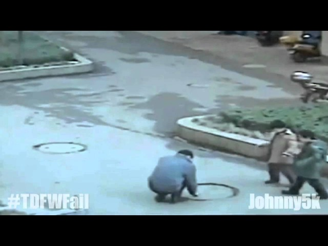 Fireworks Down a Manhole Blowout TDFWFail
