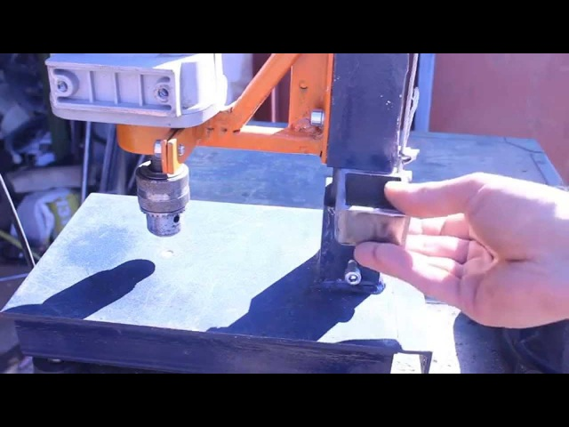 Самодельная стойка для дрели своими руками.Часть6.Homemade drill press cfvjltkmyfz cnjqrf lkz lhtkb cdjbvb herfvb.xfcnm6.homemad