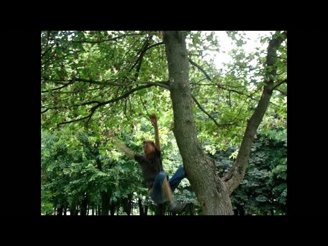СЛОМАЛ НОГУ. Неудачное падение с дерева