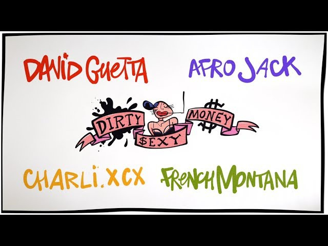 David Guetta Afrojack - Dirty Sexy Money feat. Charli XCX French Montana (Lyric Video)