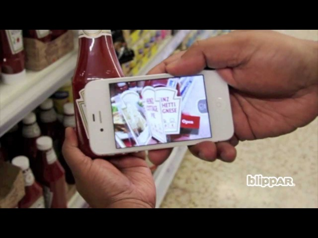Take a peek at Heinz Tomato Ketchup's hidden recipes with Augmented Reality!