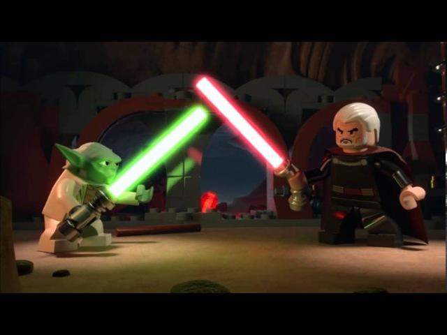 Yoda vs. Dooku - LEGO Star Wars - Episode 11 Part 1