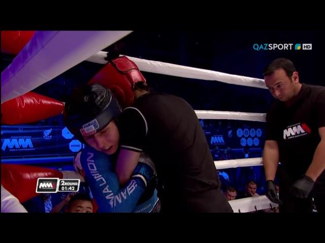 2017 World MMA Championships female strawweight final