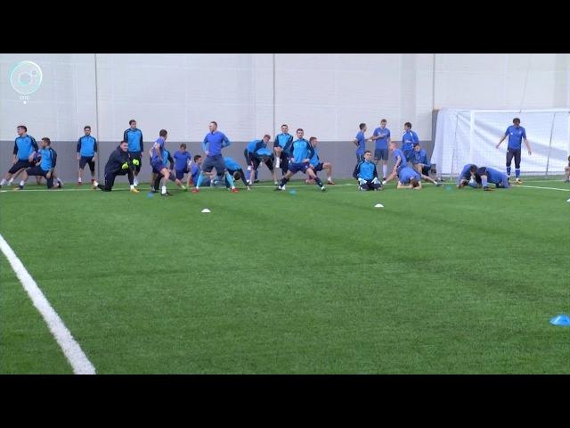 Футболисты Сибири вышли из отпуска и начали подготовку к весенней части первен...