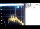 Audio spectrum analyser using smartphone (spectroid)