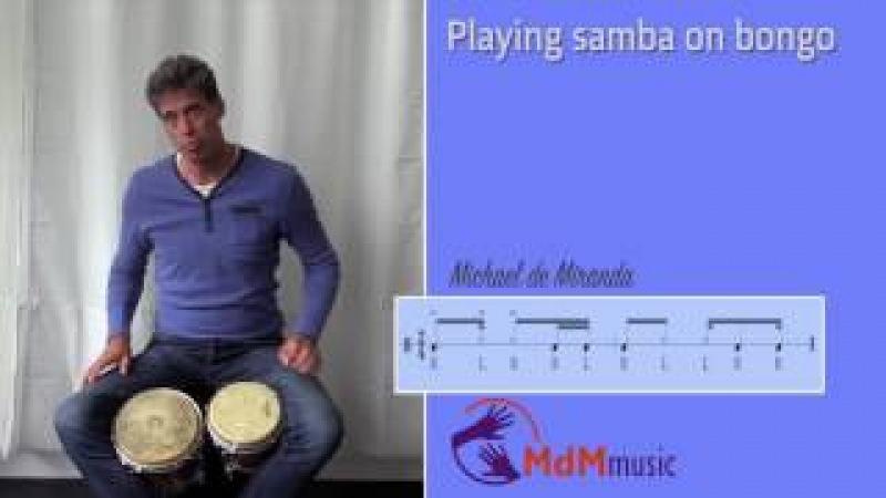 Samba on bongo, free lesson