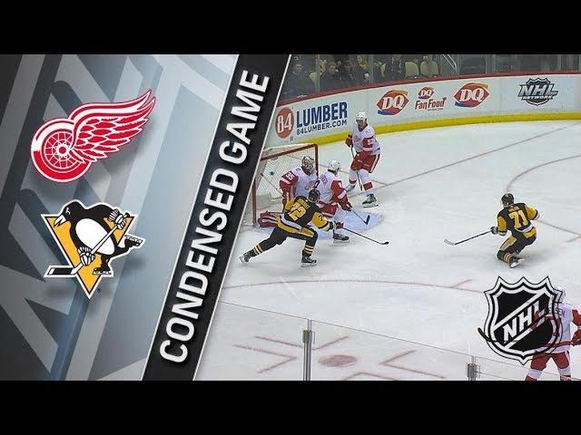 Pittsburgh Penguins vs.Detroit Red Wings(G45:23-19-3)(13.01.18)(4:1)