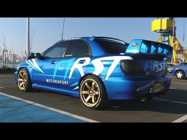 Subaru Impreza WRX - First Motorsport - Balio Todorov | 4K