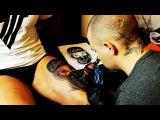 Тату девушка чикано, как делать татуировку, с объяснениями.