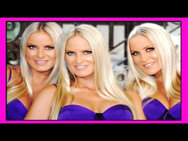 Сестры-Тройняшки Николь Эрика и Жаклин Дам-Южно-Американские Модели и Актрисы