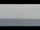 Подводная субмарина Великий Новогород калибрами уничтожает террористические объекты в Сирии
