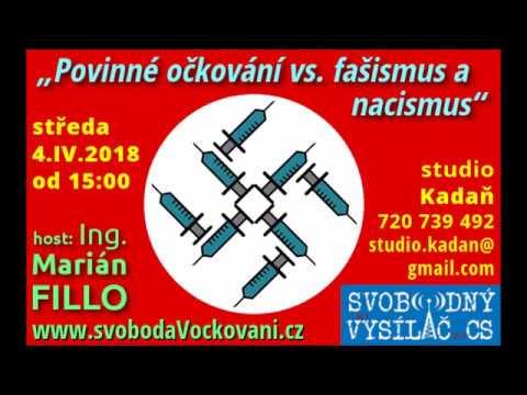 Povinné očkování vs. fašismus a nacismus Ing. Marián Fillo