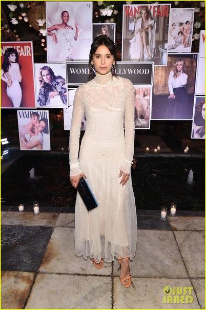 Звездные гости вечеринки Vanity Fair совместной с Lancome Paris в Голливуде
