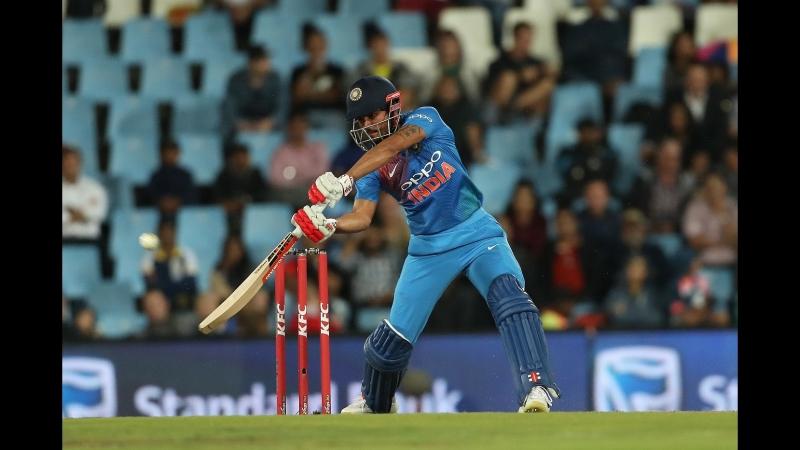 CRICKET, T20I INDIA INNINGS (1st) - South Africa v India, Feb 21, 2018