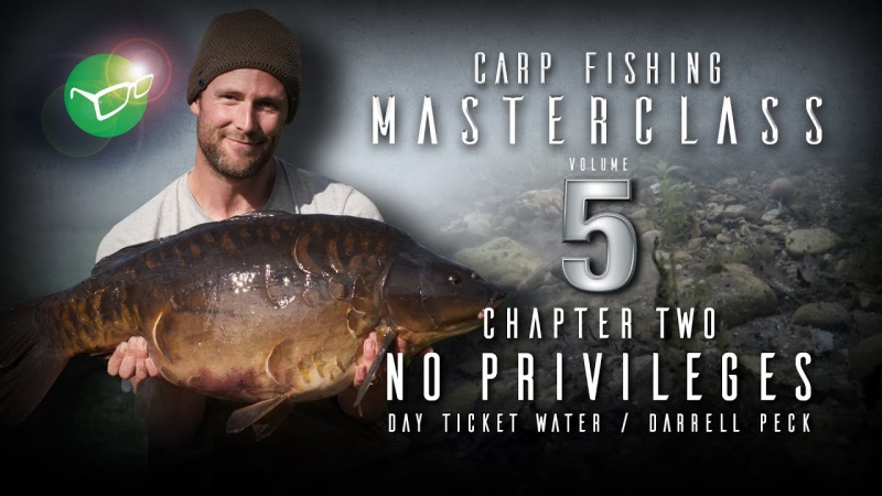 Korda_Carp_Fishing_Masterclass_5__No_privileges_day_ticket_water_|_Darrell_Peck_|_Free_DVD_2018