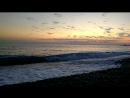 Вечер море