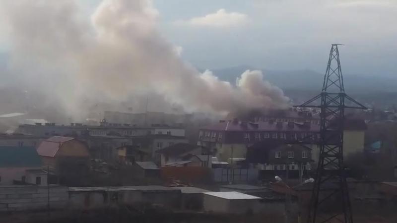 Пожар в пятиэтажке – Кыштым