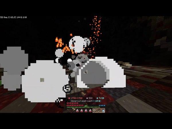 Wynncraft: Solo Corrupted Underworld Crypt (Level 85, No Armor)