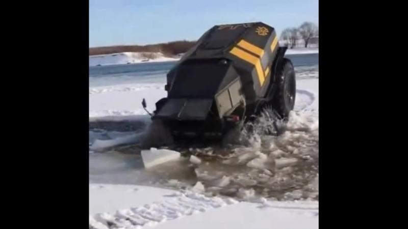 Российский вездеход Шерп, оснащенный навигаторами Garmin