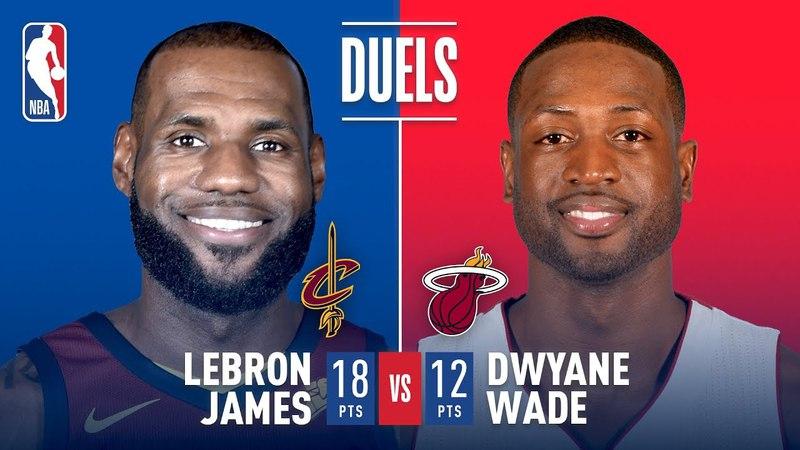 Dwyane Wade vs LeBron James 3 vs 23