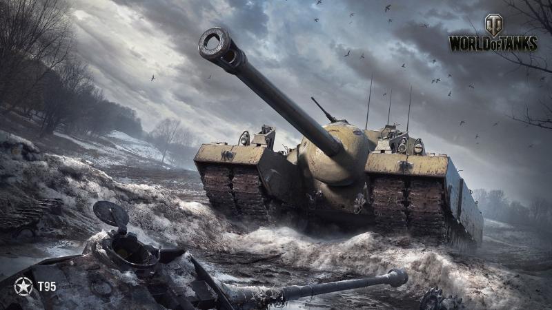 World of Tanks T95 - 6 Kills 10,6K Damage
